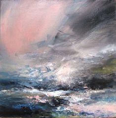 red-lipstick: Janette Kerr (British, Bath, Somerset, UK) - Pink Light  Paintings: Oil on Canvas