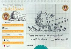 Personalized hedgehog bookmark Margaret Sherry 2/3