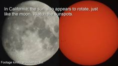 Flat Earth Proof: Moon & Sun Flip, Rotate