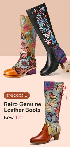Tall Boots, Clothes For Women, Womens Fashion, How To Wear, Shoes, Scenery Paintings, High Boots, Female Fashion, Stretch Knee High Boots