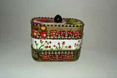 Diy Cans, Coin Purse, Wallet, Recycling, Jars, Craft, Recycled Tin Cans, Recycle Cans, Manualidades