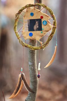 Child Handmade wire wrapped Willow Dream Catcher by VisionDancer, $45.00