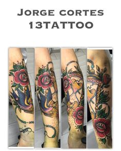 Jorge Cortes 13 Tattoo