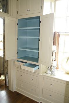Painting Inside Kitchen Cabinets Design, Pictures, Remodel, Decor ...