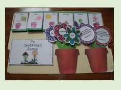 Seed and Plant Exploration unit contains a science journal, riddles, and more...