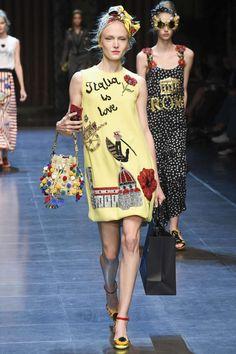 Dolce Gabbana Primavera/ Verão 2016, Womenswear - Desfiles (#23002)