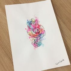 ∥Watercolor Rose ∥Flower∥장미 수채화 도안∥           #illust #tattoo #타투 #flowertattoo #Flower #pastel #tattoos #drawing #pen #illusttattoo #watercolortattoo #geometry #minitattoo #서울 #라인타투 #타투도안 #Rosetattoo #미니타투 #대학로 #타투이스트원석 #pasteltattoo #일러스트 #rinetattoo #수채화타투 #혜화역 #홍대타투 #장미타투 #Rose #타투디자인