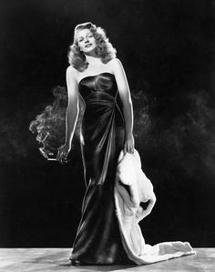Rita Hayworth in Gilda, the part that made her famous and set a fashion in glamour. Get premium, high resolution news photos at Getty Images Vanity Fair, Portrait Of Madame X, Sandy Powell, Nostalgia, Portraits, Lace Slip, Classic Beauty, Mode Style, Girl Humor