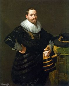 Portrait of a Nobleman -  Moreelse Paulus