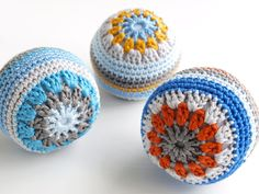 Crochet Balls crochet ball, hacki sack, yarn, hackey sack
