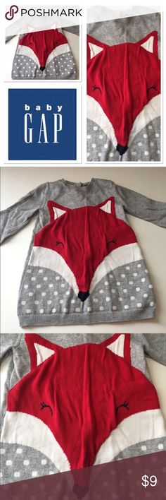Baby Gap fox dress Very cute fox dress from Baby Gap in size 18-24 months GAP Dresses Casual