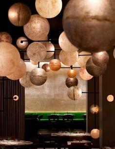 Pump Room: o Public Hotel, em Chicago, tem esse restaurante que foi projetado pela empresa de design Yabu Pushelberg.