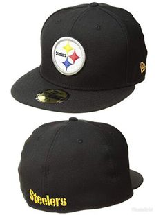 7c942995e9f Represent your gridiron favorites with the New Era® 5950 Pittsburgh  Steelers cap.