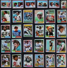 1981 Topps Football Cards Complete Your Set You U Pick From List 1-200 Football Cards, Baseball Cards, Archie, Lions, Vikings, The Vikings, Lion, Soccer Cards