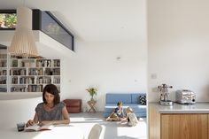 Architectural photography of East London House by Scenario Architecture