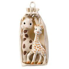 VULLI Set Plüschsophie & normale Sophie la girafe