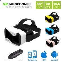 cd406fefe642 Smartphone Games - 2016 Shinecon VR 3.0 VR BOX Google Cardboard Virtual  Reality 3D Glasses VR