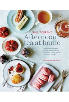 Whatever the season, whatever the occasion, it's always  time for tea. Find delicious inspiration in 80 delicious,  seasonal recipes from one of Britain's top pastry chefs and  his chef friends at The London Ritz, The Dorchester, Brown's  Hotel and other  famous destinations for afternoon tea. Step-by-step  classics from scones, custard tarts and smoked salmon  sandwiches, to Bloody Mary Shrimp Sandwiches, Mini Mocha  Cakes and Coffee and Caramel Éclairs. More than 100 gorgeous  color…