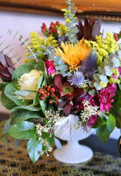 fall/winter florals via MINT LOVE SOCIAL CLUB