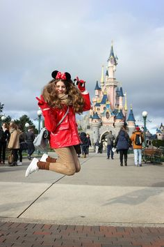 Disneyland Paris Resort / Disney/ Minnie Mouse / Castle / funny / Photography / Fotografía