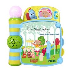 VTech In the Night Garden Sing and Slide Nursery Book: Amazon.co.uk: Toys & Games