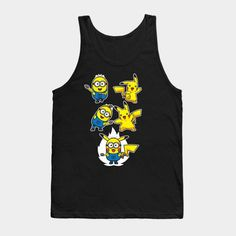 Pikaminion Fusion - Mens Tank Top