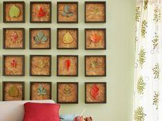 Ideas de otoño: diseños con hojas secas | La salamandra azul | DIY, reciclaje, ideas e inspiración