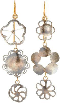 Erewhon Dangly Earrings Judy Geib