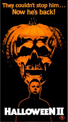 Halloween II Suggested Recipe: Baked apple chips (sans razor blades) and Pumpkin Poppers - Film Suggestion Horror Icons, Sci Fi Horror, Horror Movie Posters, Movie Poster Art, Best Horror Movies, Classic Horror Movies, Horror Films, Scary Movies, Halloween Film