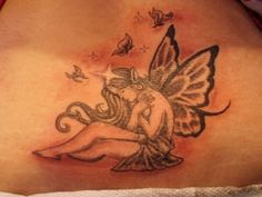 Fairy Foot Tattoos | fairy 20 Awesome Tattoo Ideas For Girls