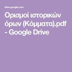 Ορισμοί ιστορικών όρων (Κόμματα).pdf - Google Drive