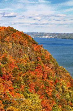 New Jersey Palisades along the Hudson River; photo by .Regina Geoghan
