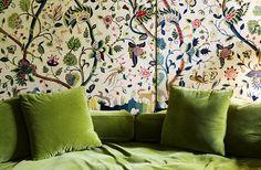 Robert Couturier.  Walls!  Green.