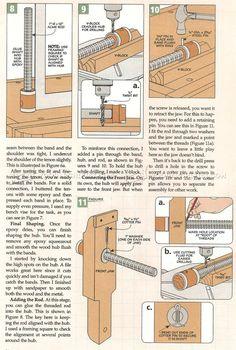 #2256 Bench Vise Plans - Workshop Solutions