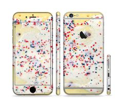 The Yummy Poptart Sectioned Skin Series for the Apple iPhone 6s Plus