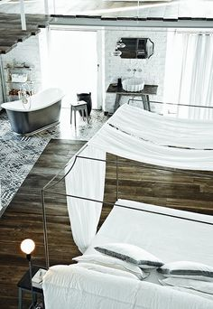 = timber and tiling floor = Paola Navone