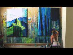 Amy Shackleton - Painting Timelapse #2 - YouTube