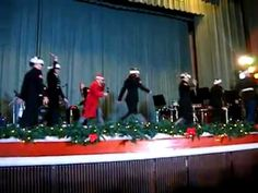 "Watch Marines perform a Gangnam Style ""Here Comes Santa Claus"""