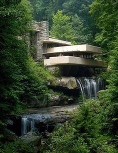 La casa de la cascada (Pensilvania, EE.UU.)