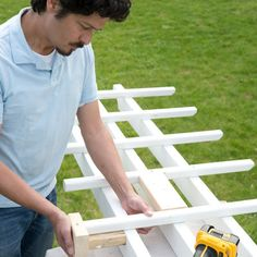 Photo: Kolin Smith | thisoldhouse.com | from How to Build a Garage Pergola