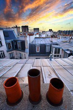 toit de paris - Les toits de Paris 1 – David Féo