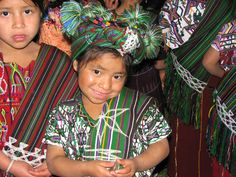 """An adorable young girl shows off her traditional """"traje"""" in #Guatemala"""