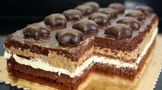 Sweet Recipes, Cake Recipes, Snack Recipes, Snacks, Polish Recipes, Food Cakes, Delicious Desserts, Cheesecake, Good Food