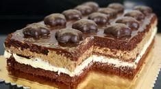 Ciasto z kremem piernikowym - Orchideli - przepisy na torty i słodki stół