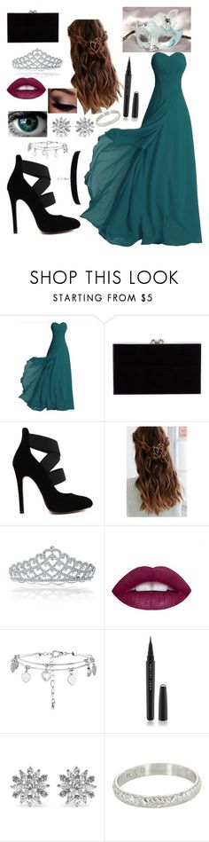 """""""masquerade ball part 4"""" by winternightfrostbite ❤ liked on Polyvore featuring Charlotte Olympia, Urban Outfitters, Bling Jewelry, L.A. Girl, New Look, Masquerade, Marc Jacobs and Kenneth Jay Lane"""