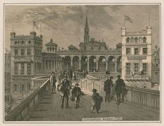 Hungerford Market, London, 1850  WHP