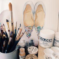 watercolor + gouache tools & supplies | Paperfashion