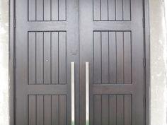 wp_114 Wooden Double Doors, Center Park, Delray Beach, Wood Doors, Tall Cabinet Storage, Solid Wood, Garage Doors, Outdoor Decor, Home Decor