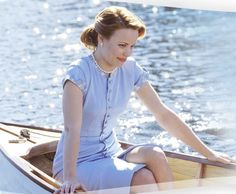 Rachel McAdams' blue dress and pearls in The Notebook.