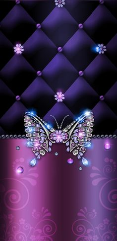 By Artist 736 x 1512 - Top Wallpaper Free Bling Wallpaper, Luxury Wallpaper, Wallpaper For Your Phone, Butterfly Wallpaper, Cellphone Wallpaper, Iphone Wallpaper, Purple Wallpaper Phone, Butterfly Artwork, Diamond Wallpaper